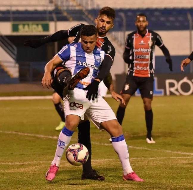 Matheus Batista tem dois gols na Série D (Divulgação/Esportivo-RS)