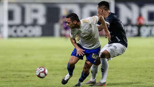 O time azul não engrena na Série B e vem de outra derrota para o Remo-(Foto: Gustavo Aleixo/Cruzeiro)