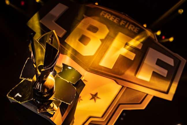 Troféu da Liga Brasileira de Free Fire
