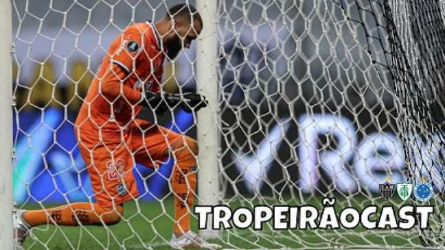 Everson teve uma noite de glórias, mas teve momentos tensos diante do Boca-(Pedro Souza/Atlético-MG)