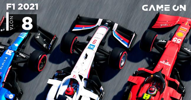 F1 2021 - Nota 8