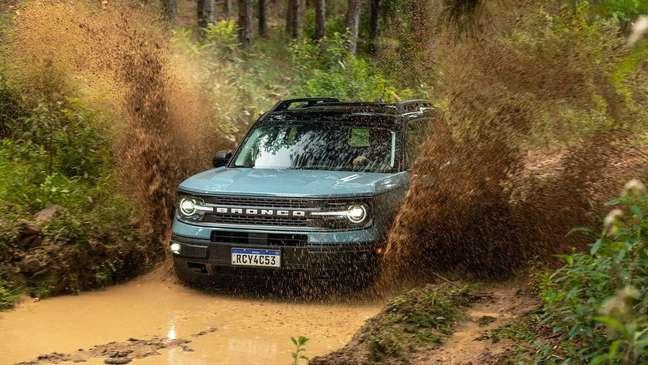 Ford Bronco pode contar com três primeiras revisões grátis.
