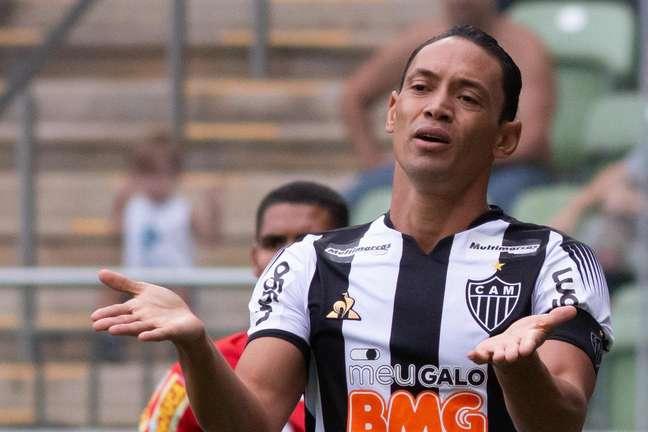Ricardo Oliveira durante a sua passagem pelo Atlético-MG