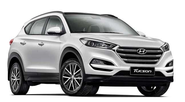 Hyundai Tucson pode ter primeira parcela paga junto com o 13º salário.
