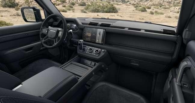 Land Rover Defender: nova central multimídia Pivi Pro com tela de 11,4''