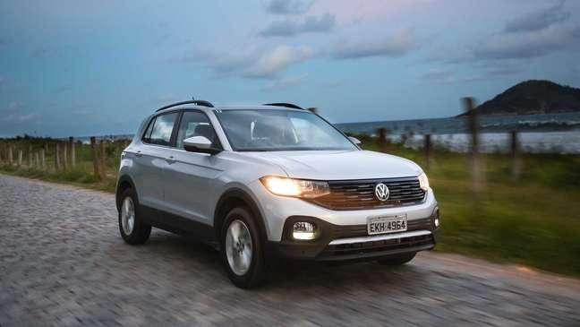 Volkswagen T-Cross Sense conta com motor 1.0 TSI de 128 cv.