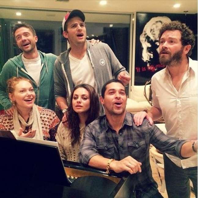 O elenco se reuniu em 2013 e mexeu com as emoções dos fãs.