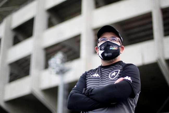 Enderson Moreira estreará pelo Botafogo (Foto: Vítor Silva/Botafogo)