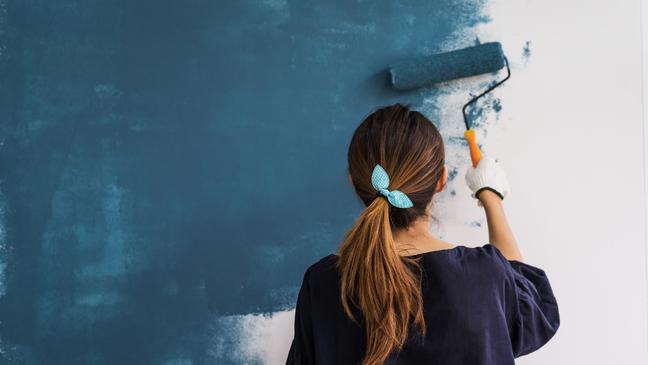 Dicas para pintar as paredes sozinha