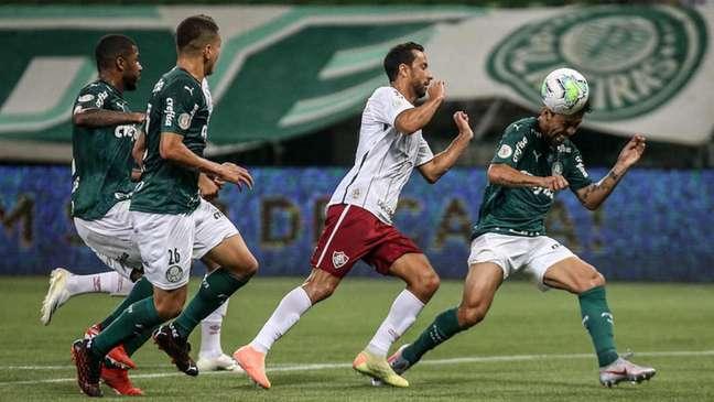 Última partida terminou em vitória do Palmeiras sobre o Fluminense (Foto: Lucas Merçon/Fluminense FC)
