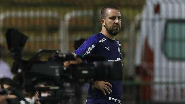 João Martins em ação pelo Palmeiras (Foto: Cesar Greco/Palmeiras)