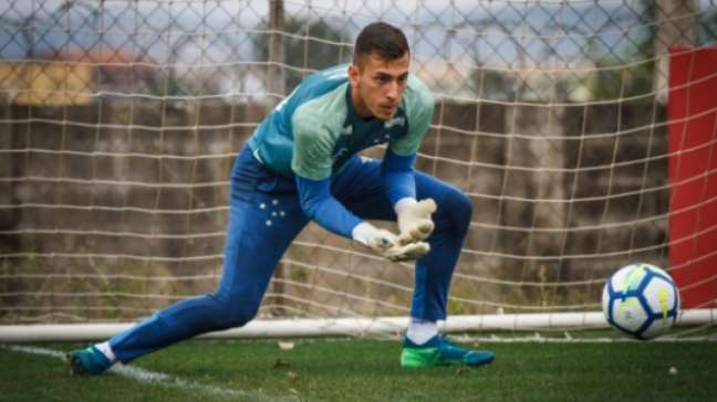 Vitor Eudes deixou o clube azul para defender o Marítimo-POR-(Vinnicius Silva/Cruzeiro)