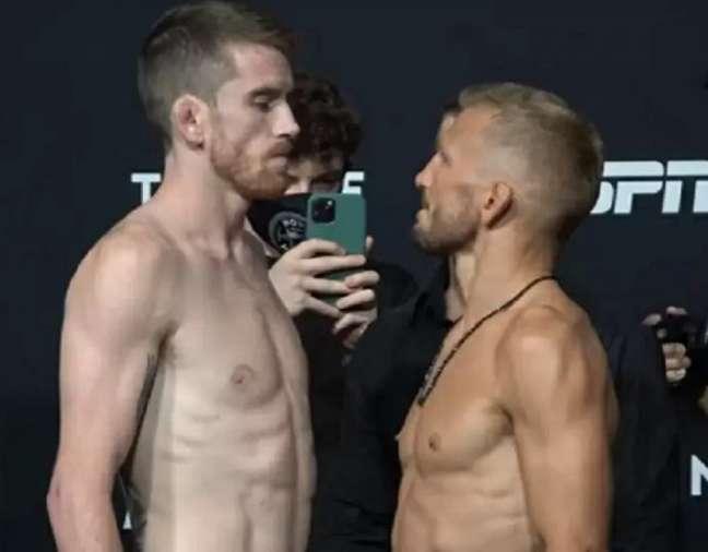 Cory Sandhagen e TJ Dillashaw fazem a luta principal do UFC Vegas 31 (Foto: Reprodução/TheMacLife)