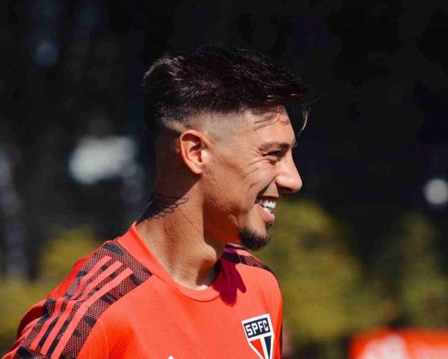 Rigoni deve ser poupado contra o Flamengo neste domingo (Foto: Fellipe Lucena / saopaulofc)