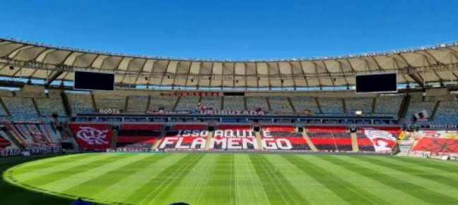 Mosaico para Flamengo x São Paulo (Foto: Divulgação/Flamengo)