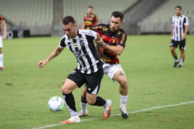 Último encontro entre os times teve goleada do Vozão (Felipe Santos/Ceará SC)