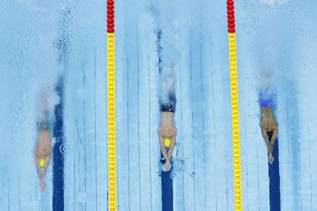 Disputa dos 400m livre masculino teve eliminação do brasileiro Guilherme Costa