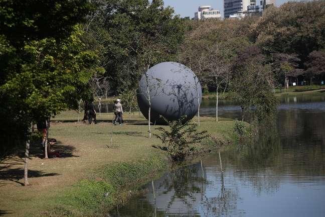 Parque do Ibirapuera, na zona sul de São Paulo