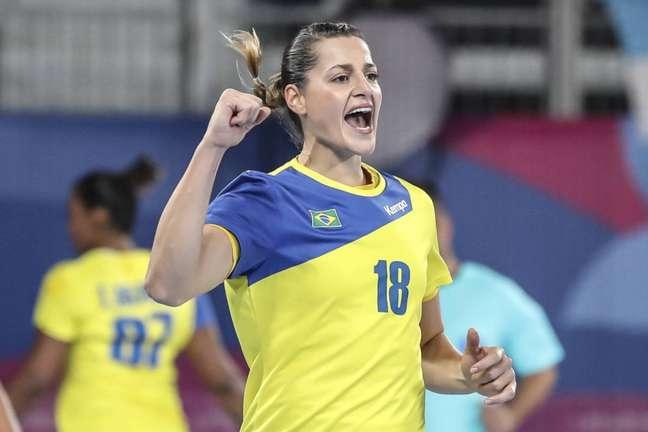 Duda Amorim já foi eleita a melhora jogadora do mundo, em 2014 (Foto: Wander Roberto/COB)