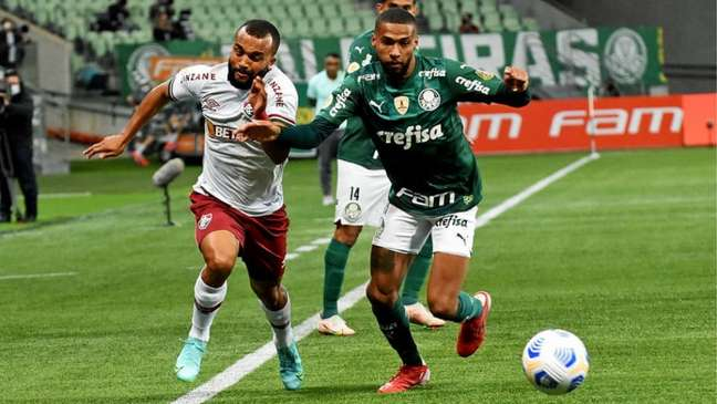 Verdão lidera o Campeonato Brasileiro 2021 (FOTO: MAILSON SANTANA/FLUMINENSE FC)