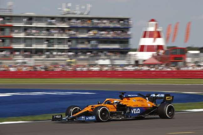 Daniel Ricciardo foi bem e terminou o GP da Inglaterra na quinta posição