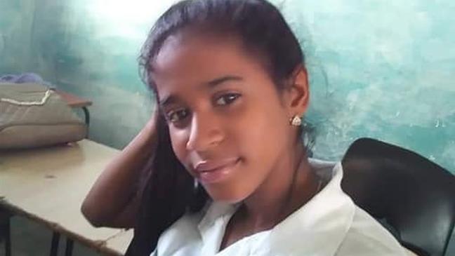 Gabriela Zequeira tem 17 anos, estuda contabilidade e foi presa no dia 11 de julho em Havana.