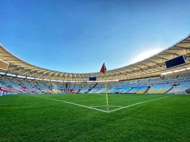 Maracanã será palco de Flamengo x São Paulo neste domingo (Foto: Divulgação/Flamengo)