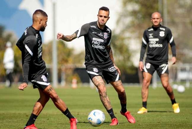 Treinamento deste sábado (24) foi o quinto entre seis do Timão nesta semana (Foto: Rodrigo Coca/Ag.Corinthians)