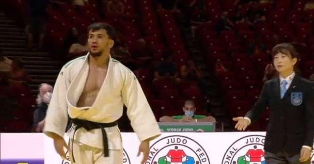 O judoca argelino Fethi Nourine desistiu de competir em Tóquio para não enfrentar israelense