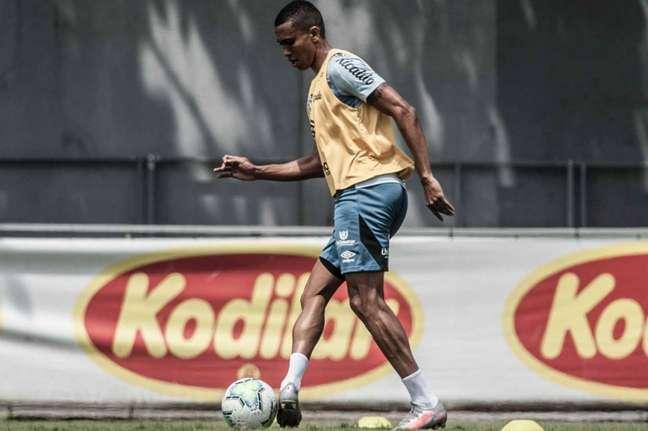 Madson chegou ao Peixe para a temporada 2020 (Foto: Ivan Storti/Santos FC)