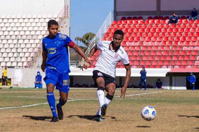 Cauê tem três jogos e três gols nesta edição do Brasileiro Sub-20 (Foto: Rodolfo Rodrigues/Cruzeiro)