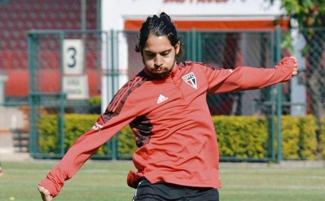 Benítez está suspenso para o clássico contra o Palmeiras (Foto: Erico Leonan / saopaulofc)