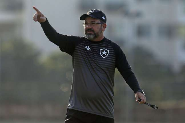 Enderson Moreira é o técnico do Botafogo(Foto: Vítor Silva/Botafogo)