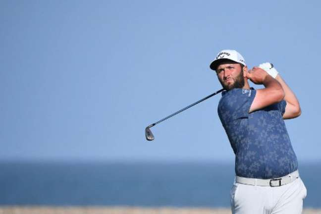 Jon Rahm é o atual líder do ranking mundial de golfe (Foto: ANDY BUCHANAN / AFP)