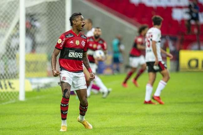 Bruno Henrique foi o nome do jogo (Foto: Marcelo Cortes / Flamengo)