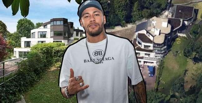 Neymar Jr. foi morar em um paraíso particular nos arredores de Paris, mas tem seu sossego ameaçado