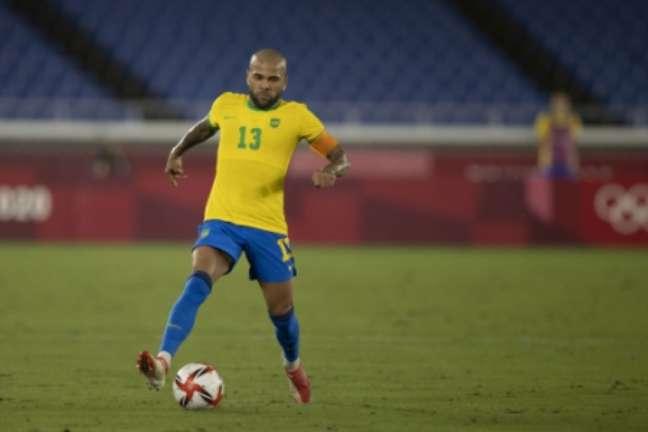 Dani Alves é um dos jogadores que mais vestiu a camisa do Brasil (Foto: Lucas Figueiredo / CBF)