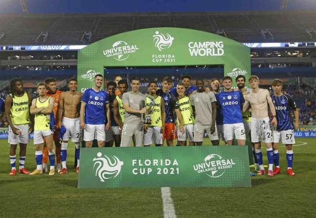 Everton se tornou o segundo europeu campeão da Florida Cup (Foto: Adriano Esteves)