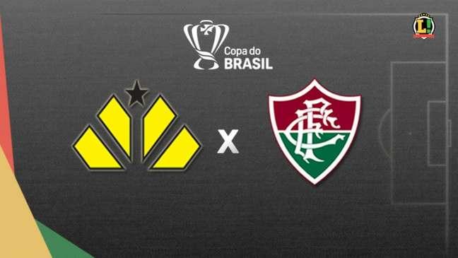 Criciúma e Fluminense se enfrentam nesta terça-feira, pela Copa do Brasil (Montagem LANCE!)