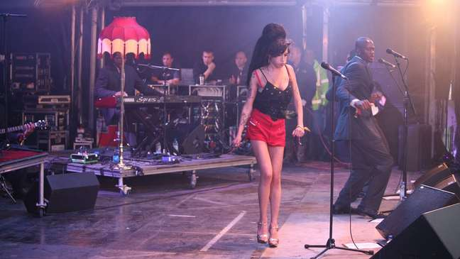 Amy Winehouse alcançou rapidamente a fama