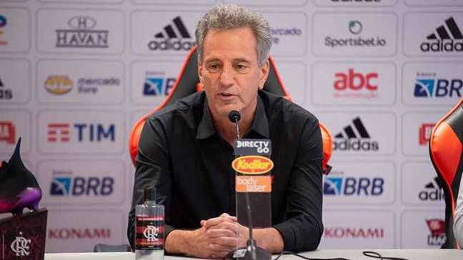 Rodolfo Landim foi nomeado como interventor da CBF (Foto: Alexandre Vidal/Flamengo)