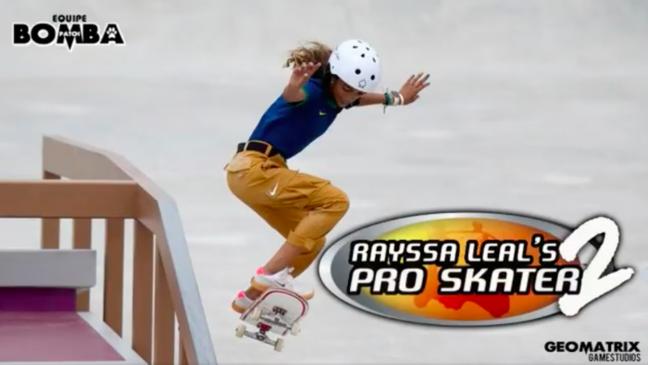 Rayssa Leal's Pro Skater 2 é criação do Bomba Patch