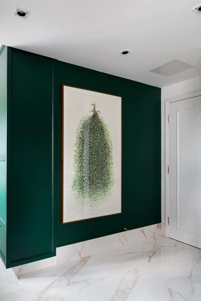 4. A cor verde transmite esperança e consegue levar um ar mais fresco. Foto: Fellipe Lima