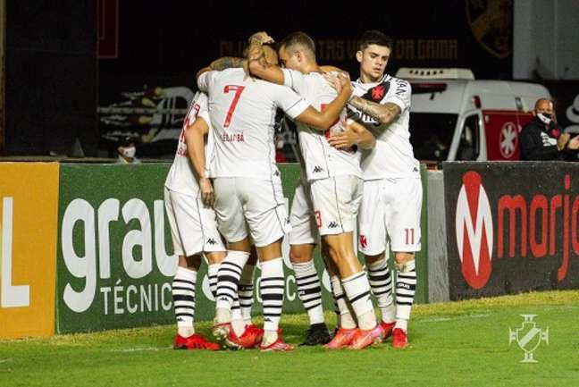 Vasco goleou o Guarani por 4 a 1 pela 14ª rodada da Série B do Campeonato Brasileiro (Vitor Brügger/Vasco)
