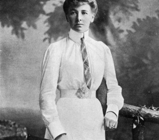 Charlotte Cooper foi pioneira nas Olimpíadas! / Reprodução