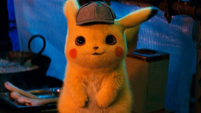 Pikachu no filme Detetive Pikachu de 2019