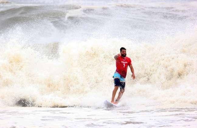 Ítalo Ferreira vai disputar está nas semifinais do surfe masculino