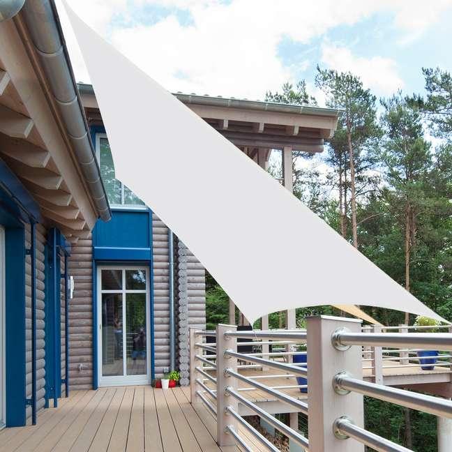 41. Toldo vela para varanda moderna – Foto Aosom