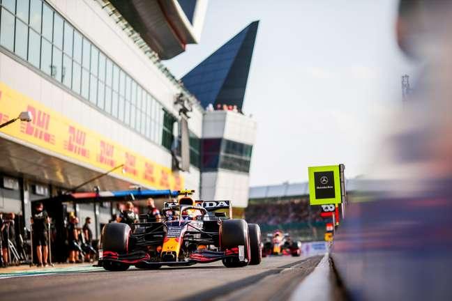 As Red Bull sofreu grande derrota em Silverstone