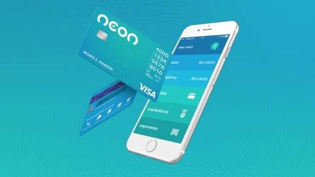 Cartão e app Neon